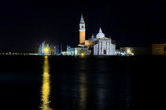 View of San Giorgio Island Royalty Free Stock Image