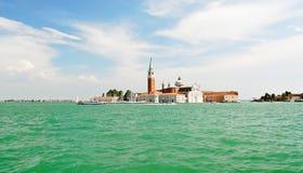 View of San Giorgio Maggiore island in Venice city Stock Image