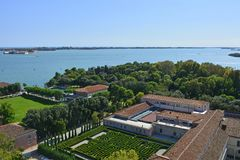 View From San Giorgio Maggiore Royalty Free Stock Photography