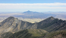 A View of San Jose Peak, Sonora, Mexico. A View of San Jose Peak, Mexico, from the Crest Trail in the Huachuca Mountains, Arizona Royalty Free Stock Photography