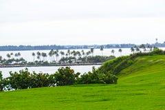 The view at San Juan at Puerto Rico royalty free stock image