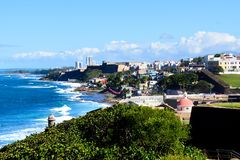 View of San Juan Puerto Rico Stock Photography