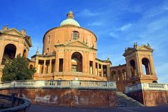 View of san luca - bologna Stock Images
