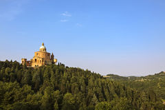 View of san luca - bologna. Italy Royalty Free Stock Photography