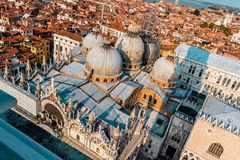 San Marco from the Height Royalty Free Stock Photography