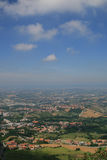 A View from San-Marino Royalty Free Stock Photography