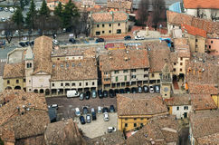 View of San Marino city Royalty Free Stock Photography