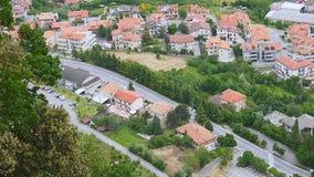 View of San Marino stock video