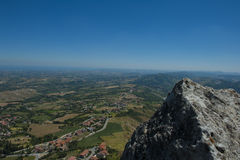 View of San Marino Stock Images
