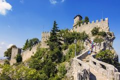 View of san marino Stock Photo