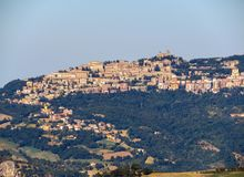 San Leo - View of the San Marino Royalty Free Stock Photography