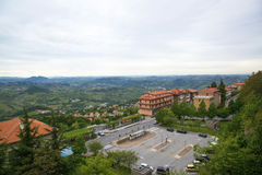 View of the San Marino. Stock Photo  -View of the San Marino Royalty Free Stock Image