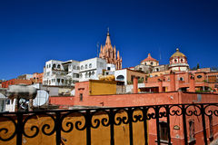 View of San Miguel de Allende, Mexico Royalty Free Stock Image