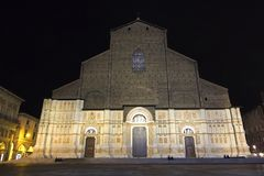 View of San Petronio - Bologna, Italy Royalty Free Stock Images