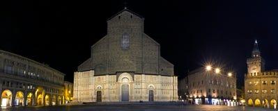 View of San Petronio - Bologna, Italy Royalty Free Stock Photo