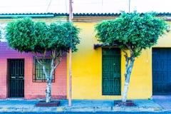 Typical san Salvador. A view of in San Salvador, El Salvador stock images