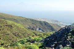 View of San Sebastian de la Gomera Stock Photo
