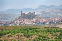 San Vicente de la Sonsierra, La Rioja, Spain. View of San Vicente de la Sonsierra village, La Rioja, Spain royalty free stock image
