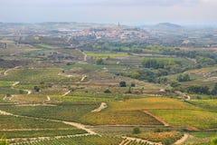 San Vicente de la Sonsierra, La Rioja, Spain. View of San Vicente de la Sonsierra village, La Rioja, Spain stock image