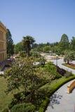 View of sanatorium territory Stock Images