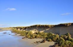 Scottish Island Sand Dune Erosion Royalty Free Stock Photos