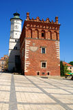 The view of Sandomierz, Poland Stock Photography
