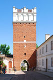 The view of Sandomierz, Poland Royalty Free Stock Photography