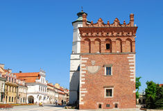 The view of Sandomierz, Poland. Stock Photography