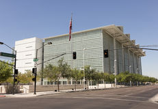 A View of the Sandra Day O'Connor Courthouse Royalty Free Stock Image
