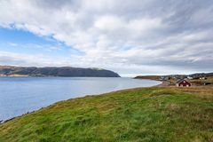 View of Sandy Cove in Norris Point, Newfoundland and Labrador stock images