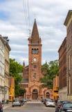 View of Sankt Pauls Kirke in Copenhagen, Denmark Stock Photo