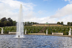 View of the Sanssouci Palace, Potsdam, Germany Stock Images