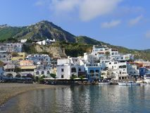 View of Sant'Angelo, Ischia, Italy stock photos