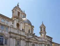 View of Sant Agnese in Agone Royalty Free Stock Photos