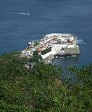 View of Santa Cruz fortress Stock Images