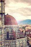View from Santa Maria del Fiore, Florence royalty free stock photography
