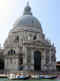 View of Santa Maria della Salute. Cathedral, Venice, Italy royalty free stock images