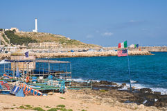 View of Santa Maria di Leuca. Puglia. Italy. Stock Images