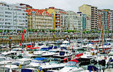 View of Santander Stock Image