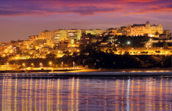 View of  Santander in  evening.   Spain Royalty Free Stock Photography