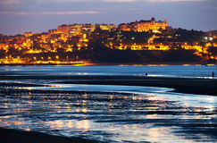 View of  Santander in  evening Royalty Free Stock Photography