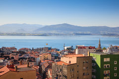 View of Santander, Spain Royalty Free Stock Photos
