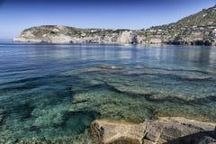 View of SantAngelo in Ischia Island Stock Image