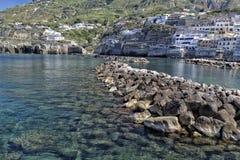 View of SantAngelo in Ischia Island Stock Photography