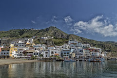 View of SantAngelo in Ischia Island Royalty Free Stock Images
