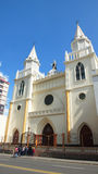 View of Santo Domingo Church. It is Cultural Patrimony of the city of Ambato Stock Photography