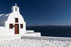View of santorini. Image from Oia, Santorini, Greece Royalty Free Stock Photography