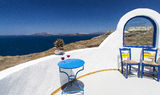 View of santorini. Image from Oia, Santorini, Greece Stock Image