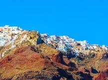 View of Santorini Stock Photos