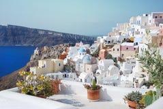 View of Santorini Royalty Free Stock Photos